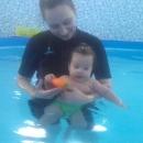 Акваплюх - грудничковое плавание